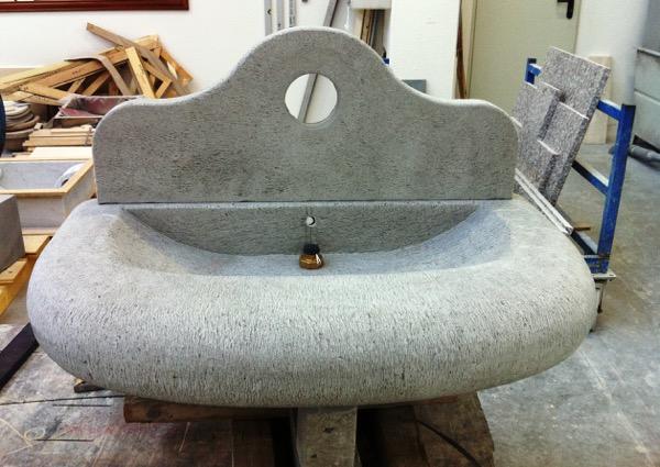 lavello massello pietra serena
